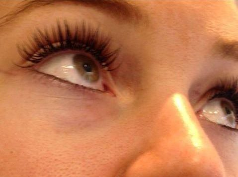 our work lash extensions Manchester