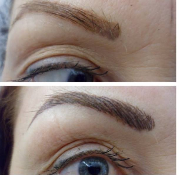 Semi Permanent Brows Manchester The Waxing Studio