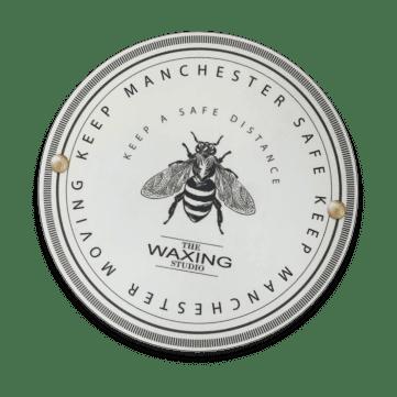 Manchester Bee safe distance@2x-min